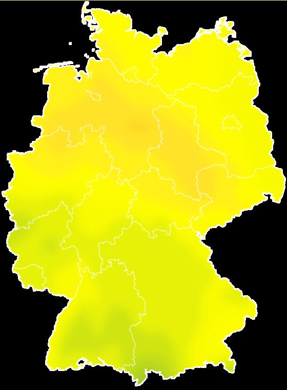 Vorhersage deutschland Tag 0